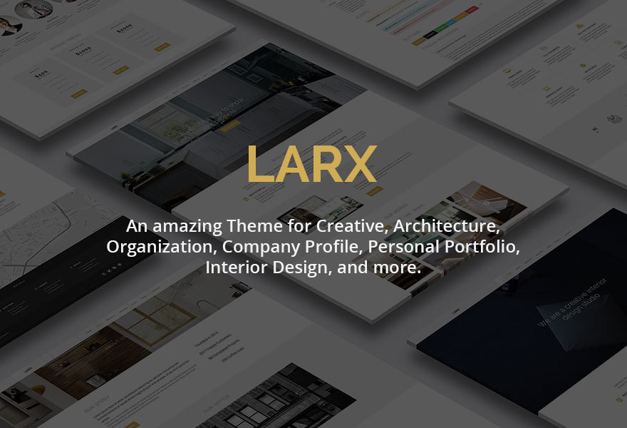 LARX Child Theme WordPress theme