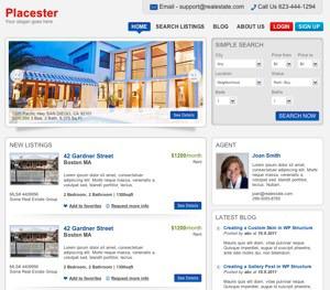 Manchester company WordPress theme