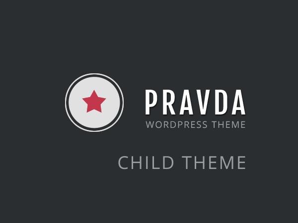 Pravda - Retina Responsive WordPress Theme - Child WordPress theme