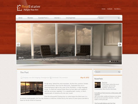 RealEstater WordPress theme
