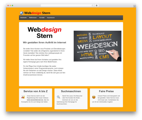 Responsive WordPress theme free download - webdesign-stern.de