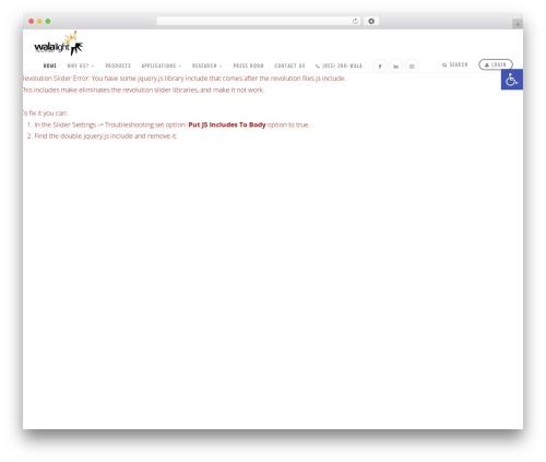 WordPress popup-press plugin - walalight.com
