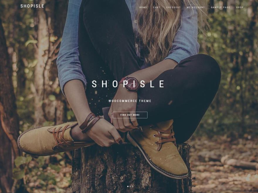 ShopIsle WordPress shopping theme