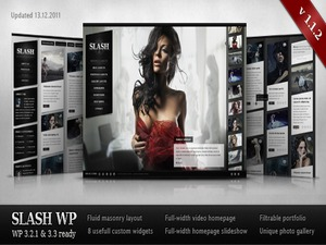 Slash WP WordPress blog theme