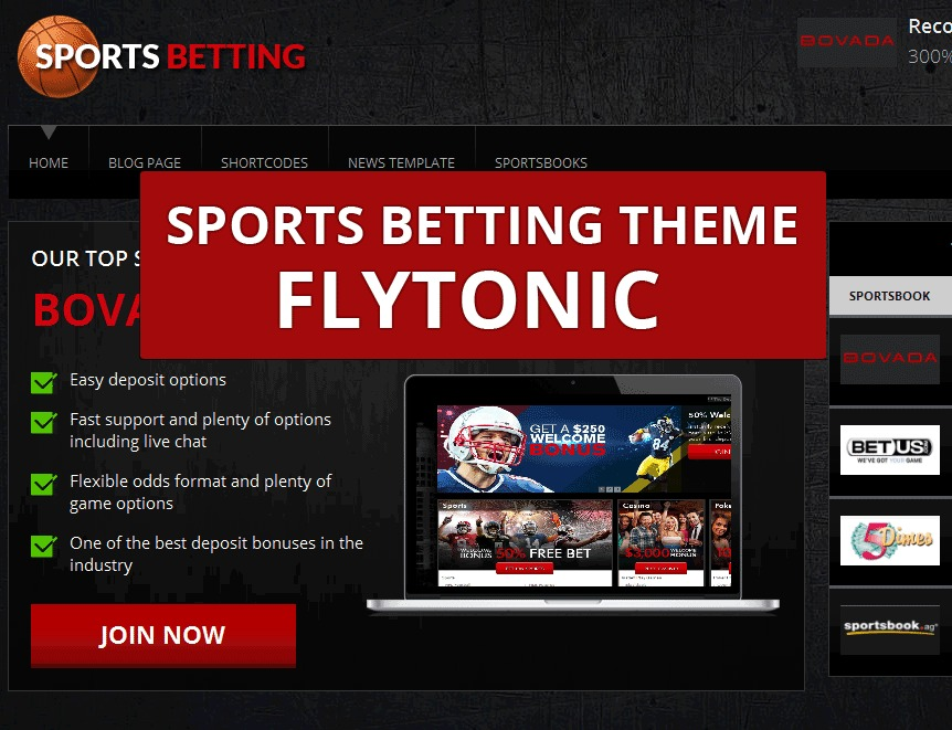 Sports Betting Theme WP template