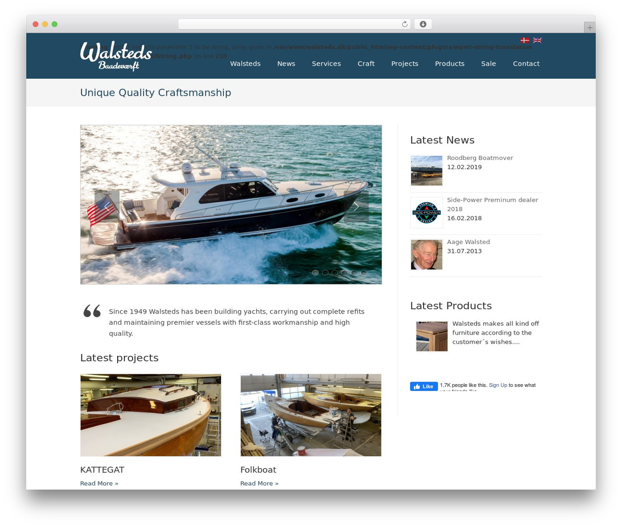 Striking MultiFlex & Ecommerce Responsive WordPress Theme WordPress ecommerce theme - walsteds.dk