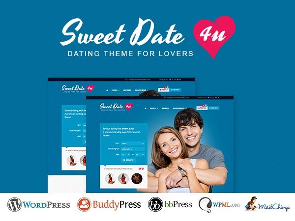 Sweetdate Child WordPress theme
