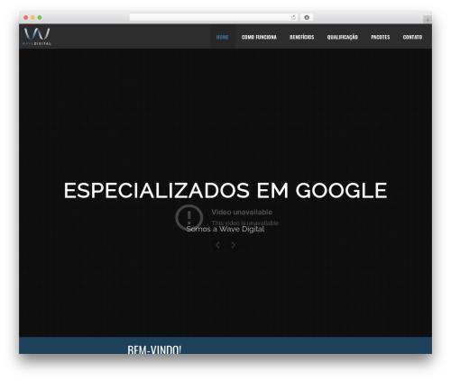 Template WordPress North (shared on wplocker.com) - wavedigital.com.br