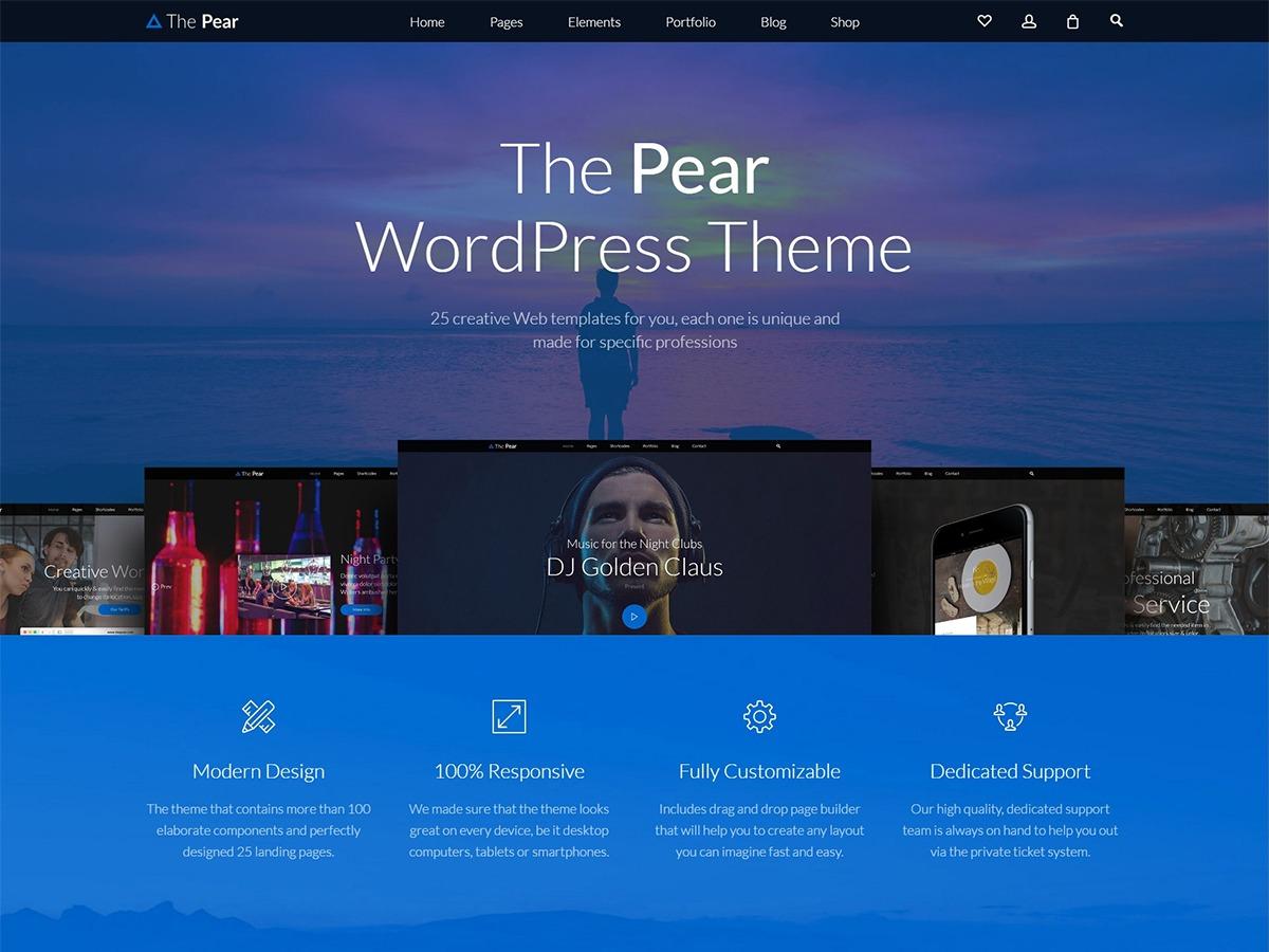 Template WordPress Pear