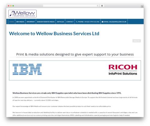 Theme WordPress Elite - wellow.co.uk
