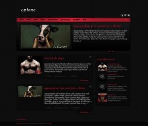 Theme WordPress Epione