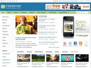 Theme WordPress Forester