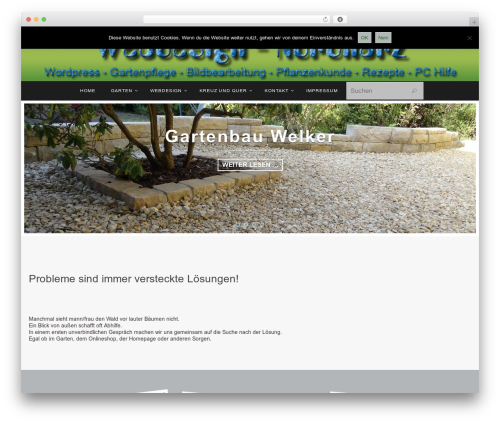 Theme WordPress Nirvana - webdesign-nordharz.de