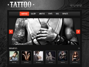theme45028 WordPress page template