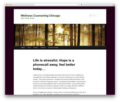 Twenty Eleven template WordPress free - wellnesscounselingchicago.com