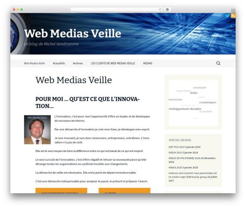 Free WordPress 3D Tag Cloud plugin - web-medias-veille.com