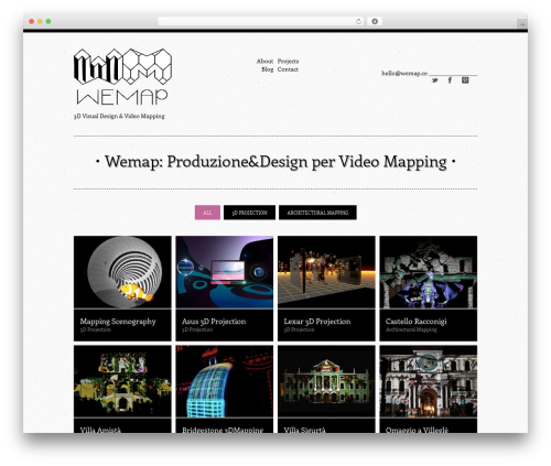 Vision WordPress video theme - wemap.co