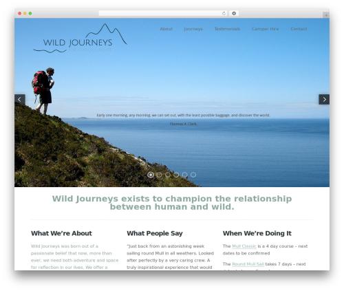 Free WordPress Easy Image Gallery plugin - wild-journeys.co.uk