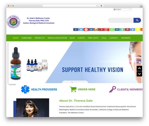 WordPress template Builder - wellnesscenter.net
