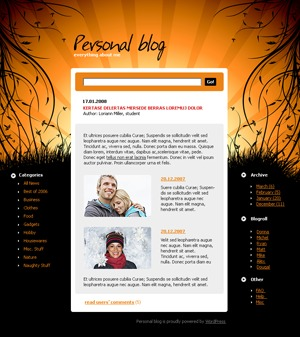 WordPress theme 462 theme WordPress