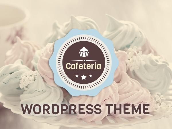WordPress theme Cafeteria Responsive Wordpress Theme