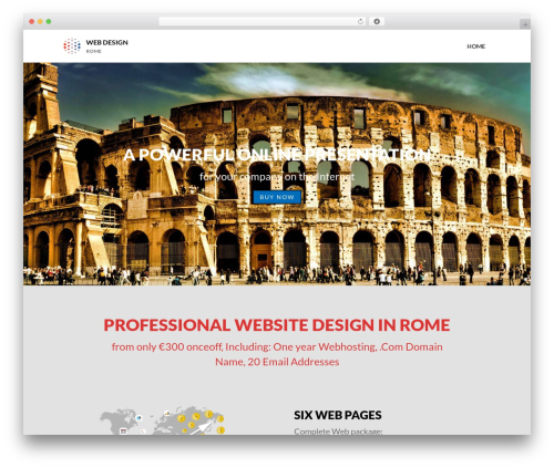 WordPress theme Layers - webdesignrome.com