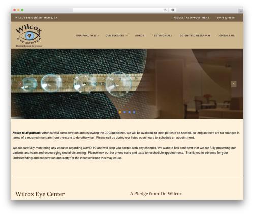 WP template PhysioPlus - wilcoxeye.com