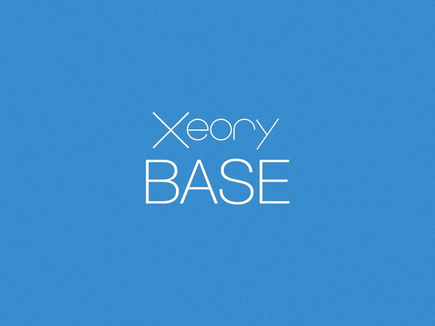 XeoryBaseChild WP theme