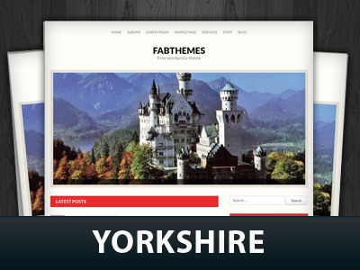 Yorkshire WP template