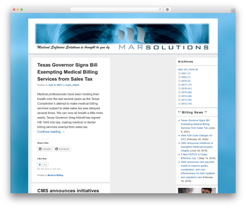 Free WordPress WP-dTree plugin - medicalsoftwaresolutions.net