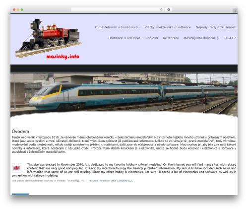 Celestial - Lite template WordPress free - masinky.info