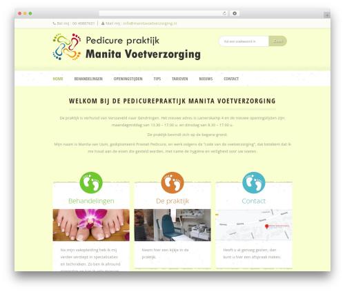 Dream Spa WP theme - manitavoetverzorging.nl