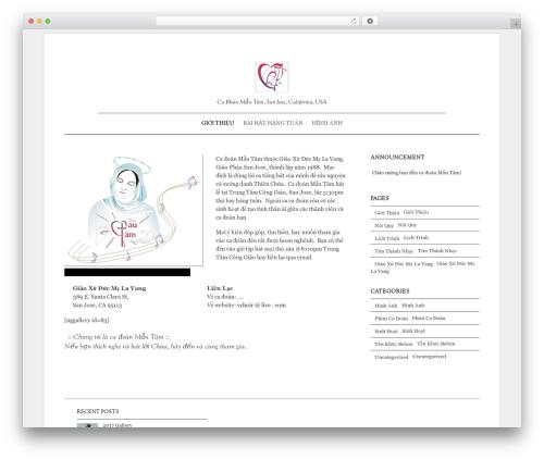 Elemin WordPress template - mautam.org