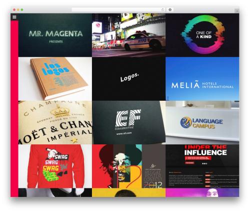 Huge WordPress template for business - mrmagenta.net