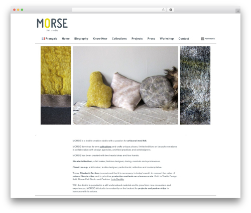 Imbalance WordPress theme - morsefeltstudio.com