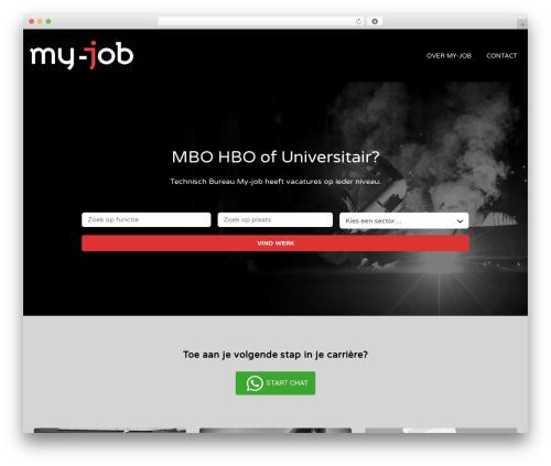 Jobify WP theme - my-job.nl