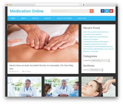 SociallyViral by MyThemeShop WordPress store theme - medicationonline.org