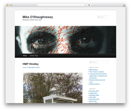 Twenty Eleven theme WordPress free - moshaughnessy.co.uk