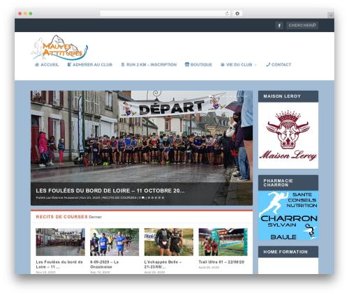Best WordPress theme Extra - mauves-attitudes.com