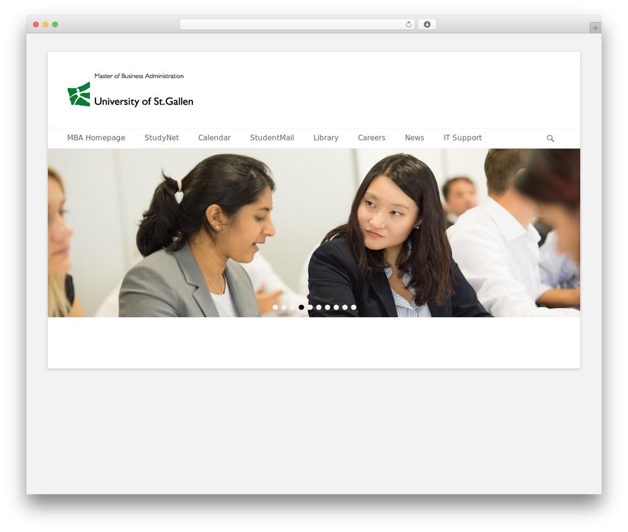 Catch Base Pro theme WordPress - mba-learning.ch