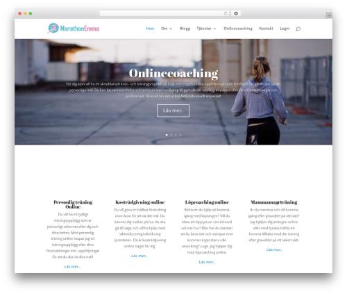 Divi WordPress theme - marathonemma.se