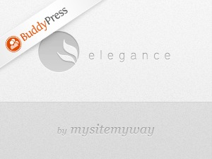 Elegance BuddyPress premium WordPress theme