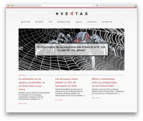 Elegance WordPress theme - mas-ventas.com
