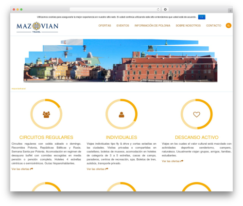 Free WordPress Cookie Notice for GDPR plugin - mazoviantravel.pl/home