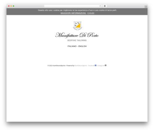 GeneratePress WordPress template - manifatturediporto.it
