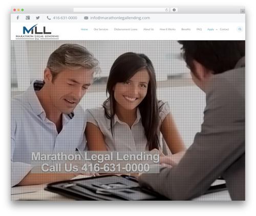 IncomeUp business WordPress theme - marathonlegallending.com