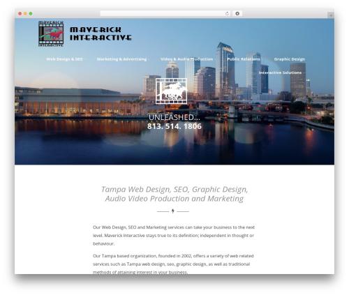 Optimizer free WordPress theme - mav-inc.com