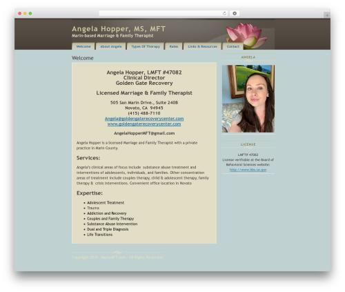 Prima WordPress theme - marinmft.com