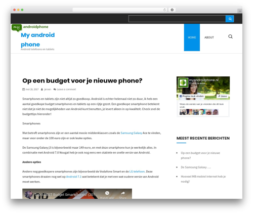 Primal free WP theme - myandroidphone.nl