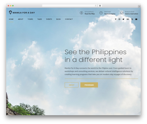 Shopscape best WordPress template - manilaforaday.com